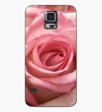 Pink rose photo Case/Skin for Samsung Galaxy