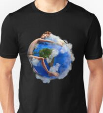 We Love The Earth - Lil Dicky Earth Hug Slim Fit T-Shirt
