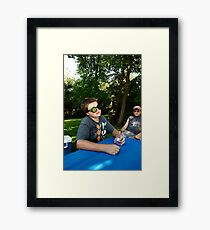 Pouyiok- 4th of July series 1 of 8 Framed Print