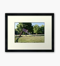 Pouyiok- 4th of July series 4 of 8 Framed Print