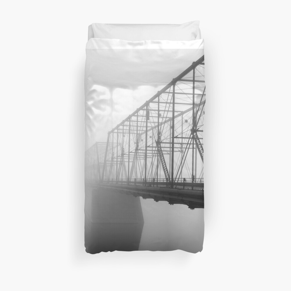 Foggy Morning Duvet Cover