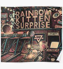 Rainbow Kitten Surprise tour Music Poster