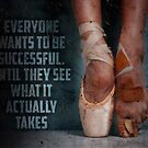 Ballet Dancer Price Ballerina Inspirational Quote by SuccessHunters
