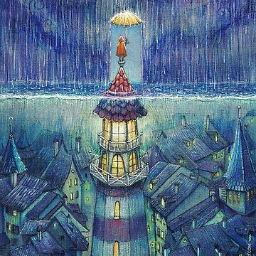Too much rain by illustore