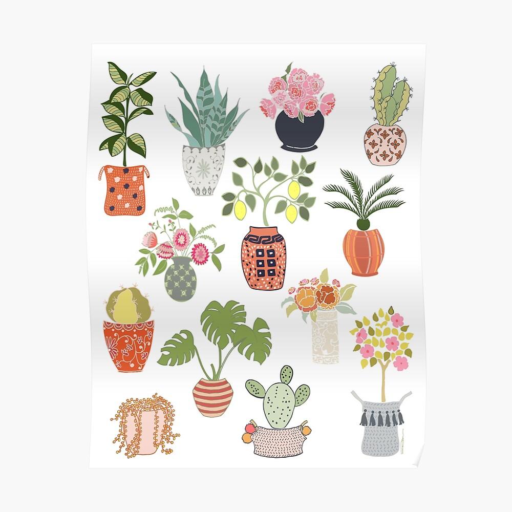 Indoor Planters Poster