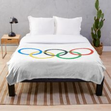 Olympic Games Throw Blanket