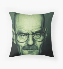 Bryan Cranston Caricature Throw Pillow