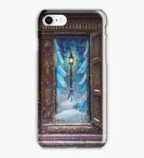 Christmas in Narnia iPhone Case/Skin