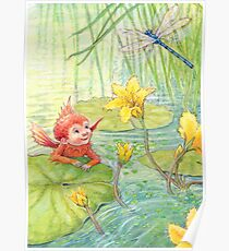 Nixie - cute water-pixie Poster