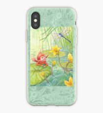 Nixie - cute water-pixie iPhone Case