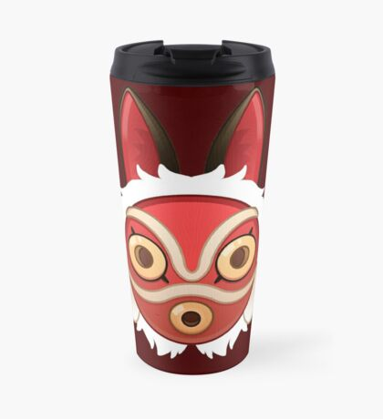 Mononokes' Mask Travel Mug