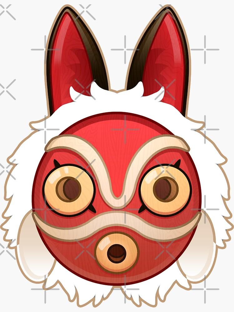 Mononokes' Mask by Elisecv