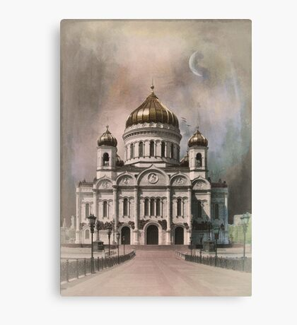 The Cathedral of Christ the Saviour . Canvas Print