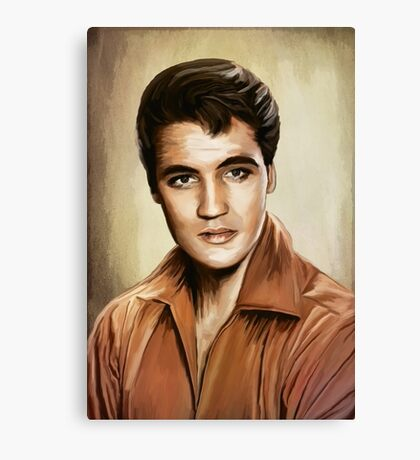 I'll Remember You......ELVIS Canvas Print