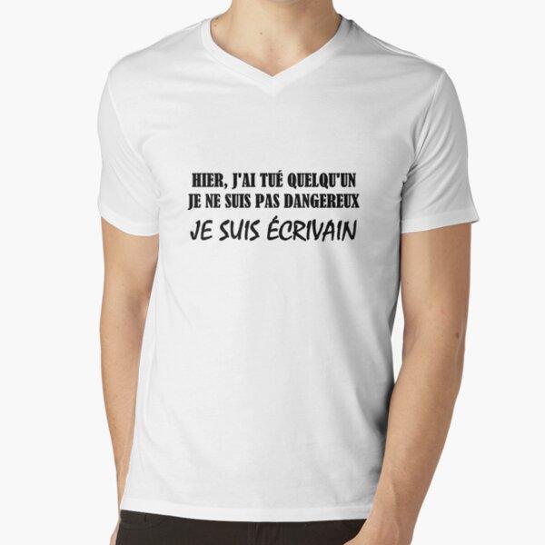Writer V-Neck T-Shirt