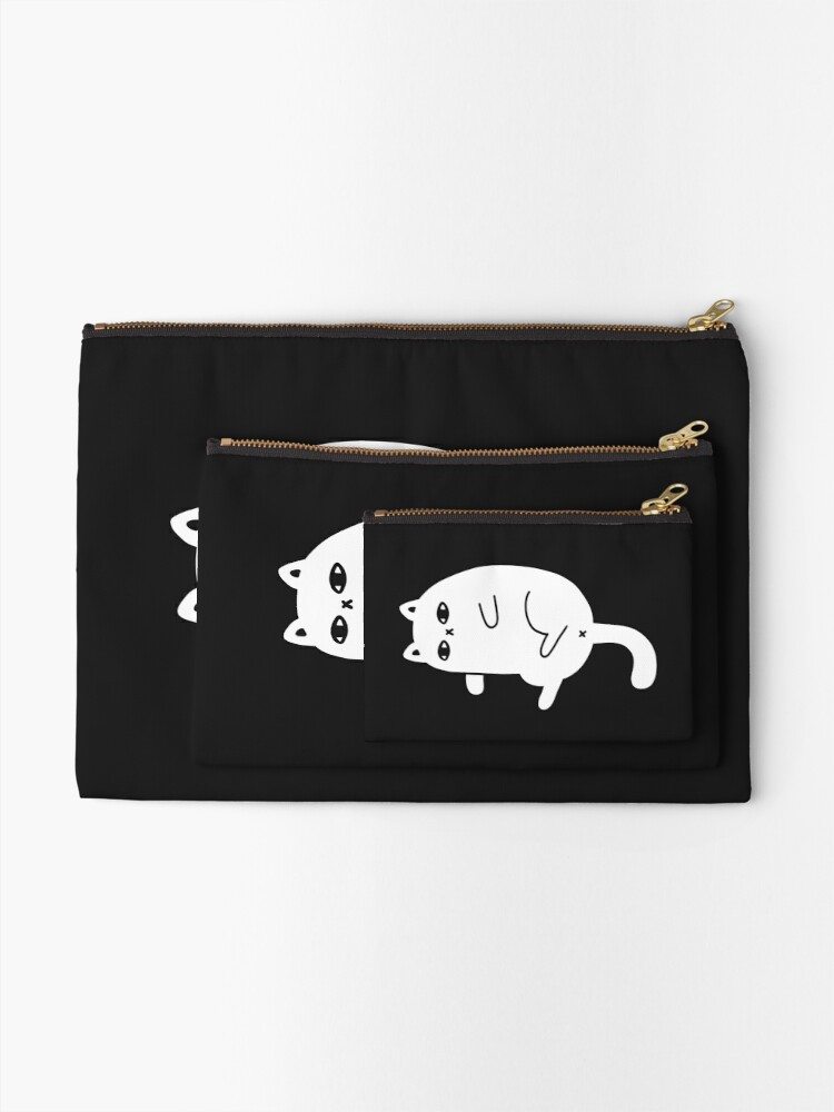 Alternate view of Depression Cat Zipper Pouch