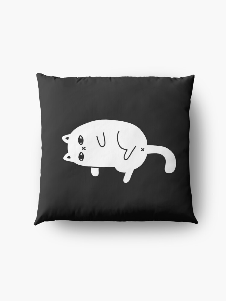 Alternate view of Depression Cat Floor Pillow