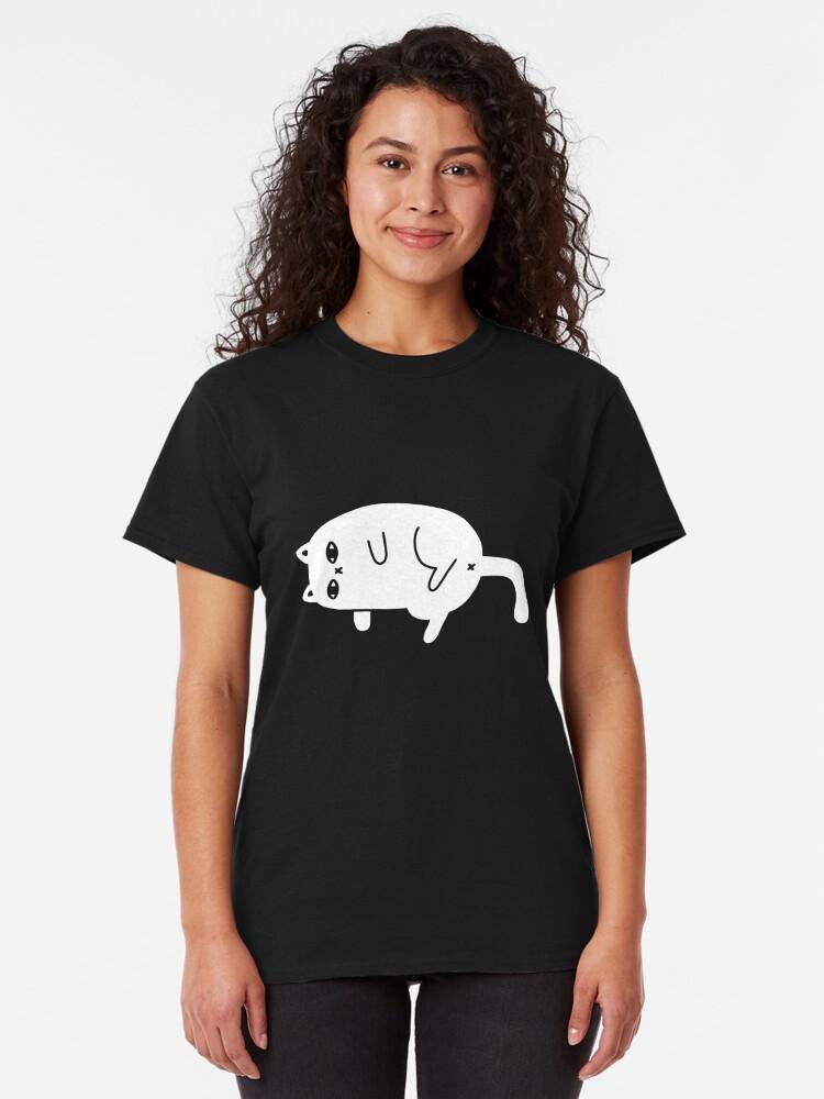 Alternate view of Depression Cat Classic T-Shirt