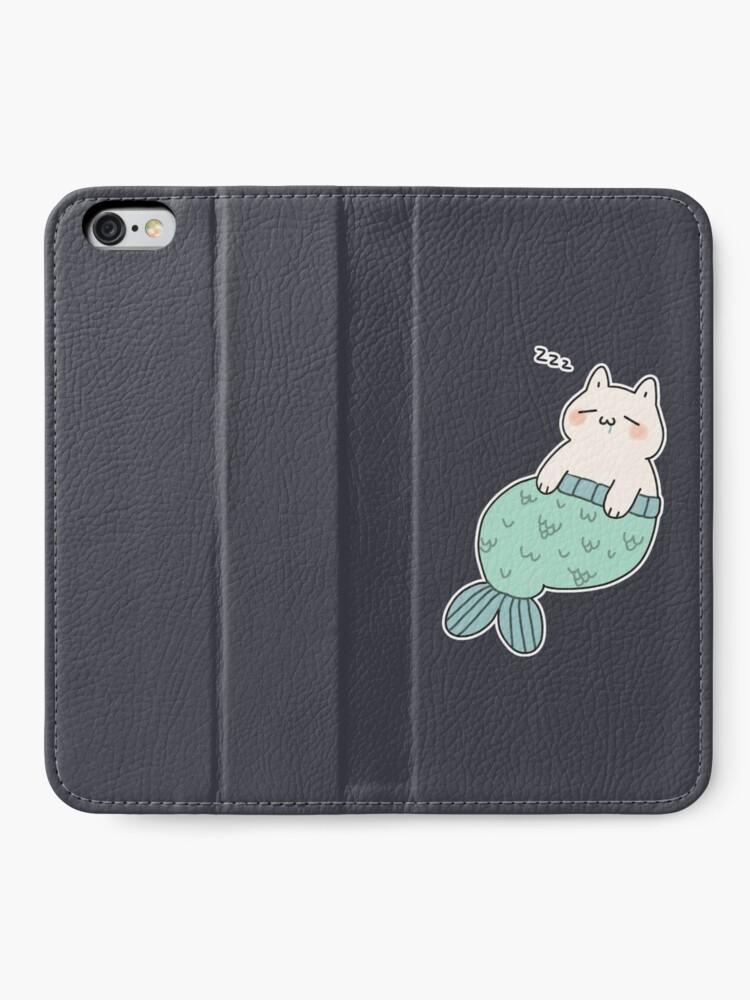 Alternate view of Sleeping Catfish iPhone Wallet