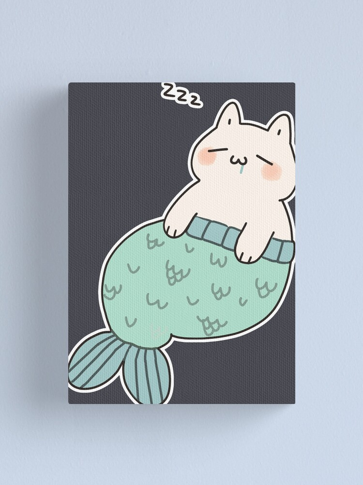 Alternate view of Sleeping Catfish Canvas Print