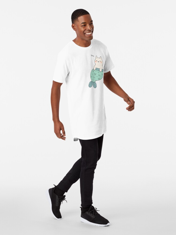 Alternate view of Sleeping Catfish Long T-Shirt