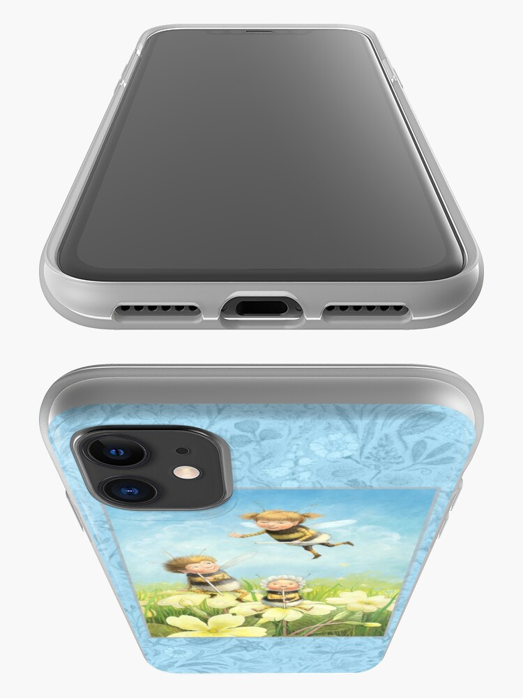 Alternate view of The Bimbles - Cute bee-pixie family iPhone Case & Cover
