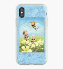 The Bimbles - Cute bee-pixie family iPhone Case