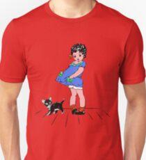 Girl with kitten T-Shirt