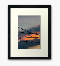 Forbidden Skies Framed Print