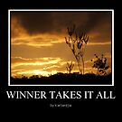 Winner takes it all by Karlientjie