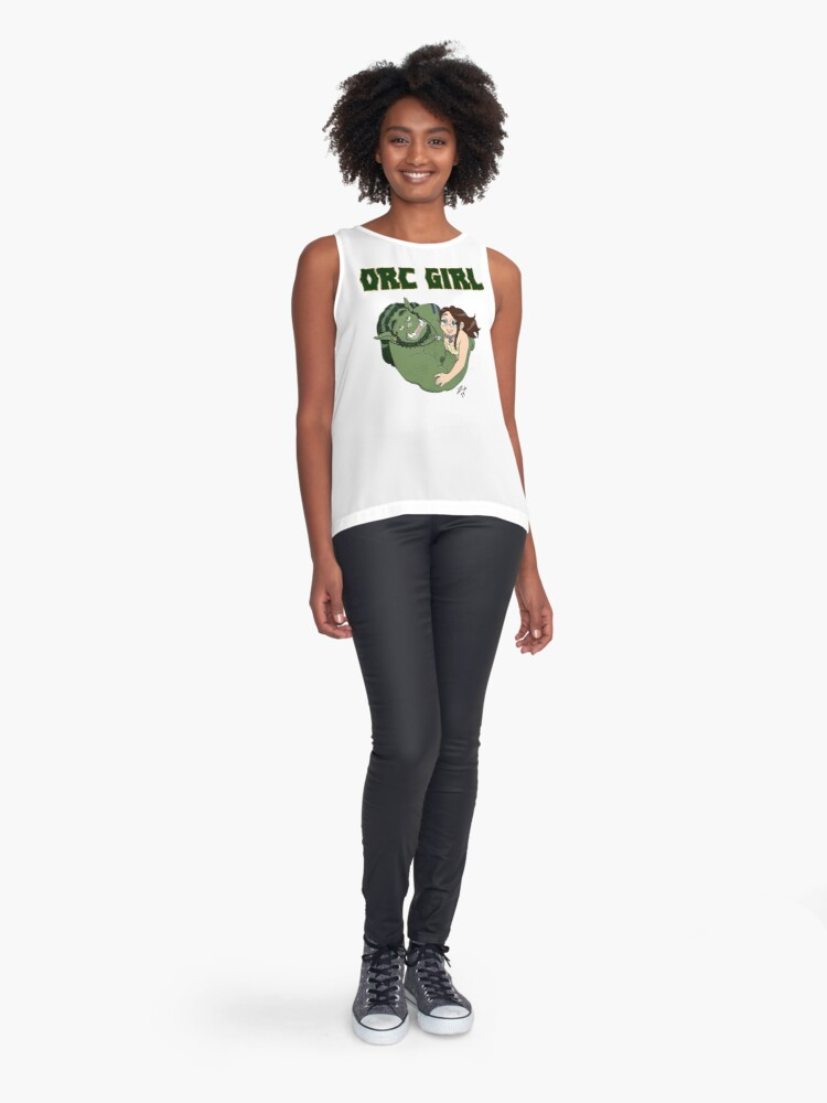 Alternate view of Orc Girl Love Sleeveless Top