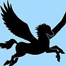 Pegasus Silhouette by ferinefire