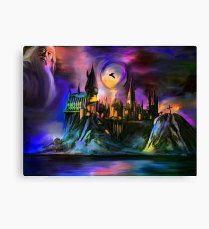 The Magic castle. Canvas Print