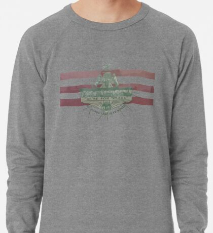 Old Fort Worth Flag - We're For Smoke - All Roads Lead to Ft. Worth Lightweight Sweatshirt