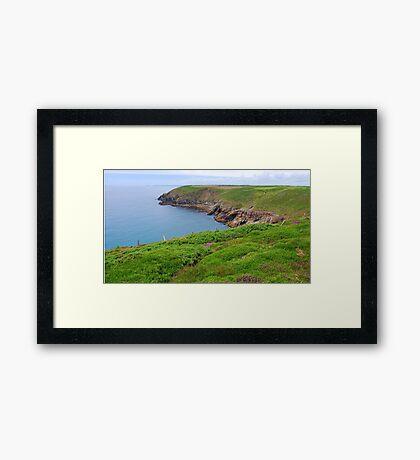 The Cliff Walk Framed Print