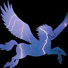 Storm Pegasus Silhouette by ferinefire