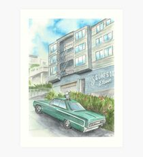 """Surfside Eleven"" by Robin Galante Art Print"
