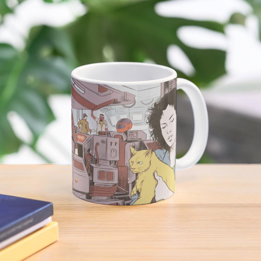 Aboard the Nostromo Mug