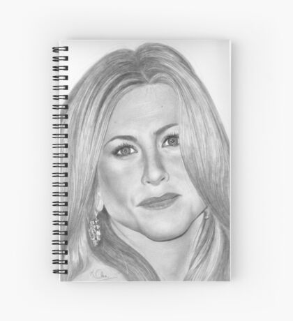 Jennifer Aniston Spiral Notebook