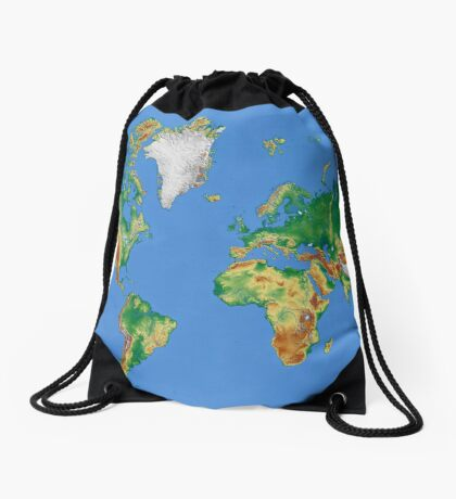 Our World Drawstring Bag