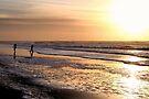 Glorious Sea at Sunset by Jo Nijenhuis