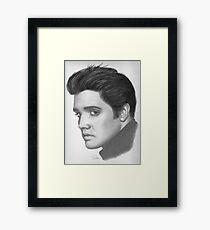 Elvis Framed Print