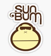 Sun bum Sticker