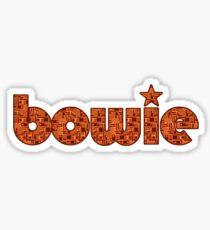Bowie! Sticker