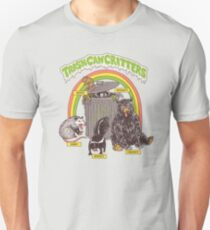 Trash Can Critters Slim Fit T-Shirt