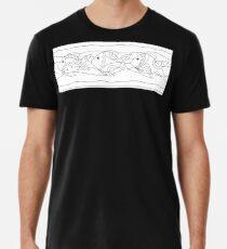 Just Add Colour - Funki Fish Border Premium T-Shirt
