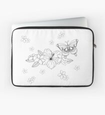 Just Add Colour - Tropical Butterfly Laptop Sleeve