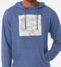 Just Add Colour - Birds of a Feather Lightweight Hoodie