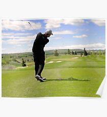 Golf Swing G Poster