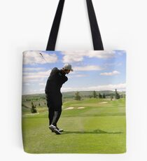 Golf Swing G Tote Bag